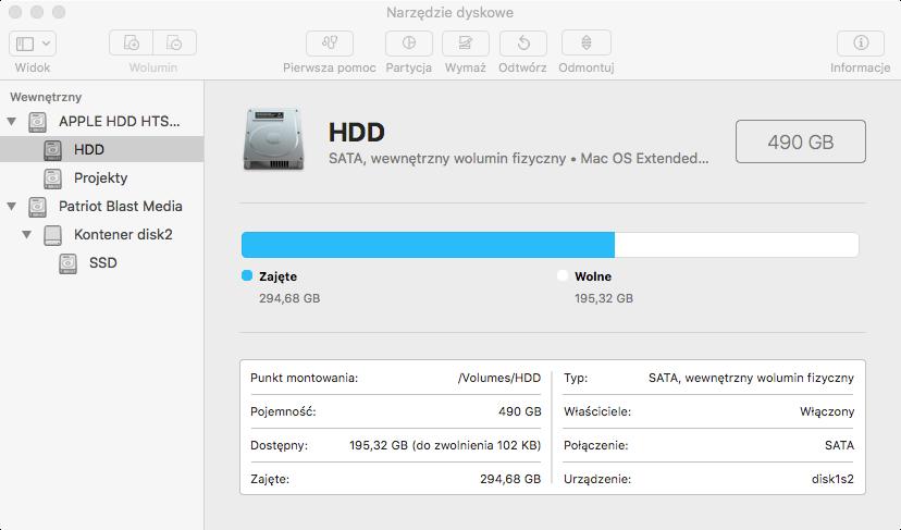 System plików HFS+